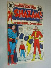 Shazam! #1 F DC CC Beck the original Captain Marvel WOW