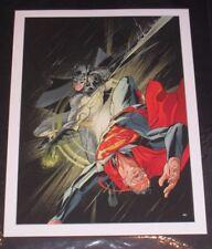 Action COMICS #50 Batman VS Superman Giclee stampa collo di bottiglia Galleria Limited
