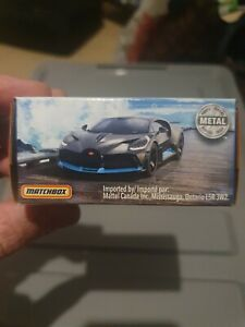 Matchbox Bugatti Divo Grey