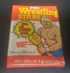 1985 Topps/O-Pee-Chee Wrestling wax pack second series