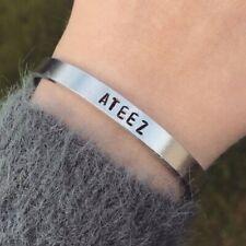 Ateez Bracelet Handmade Kpop Atiny Silver San WooYoung HongJoong Jewellery