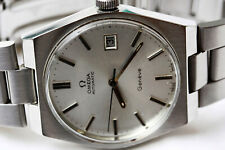 OMEGA Geneve Silver Dial Automatic Luxury Watch Cal 1481 Movement