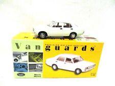 Corgi Vanguards Morris Marina Saloon 1800 Glacier White  VA06303