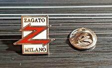 Zagato Pin Logo Enamelled Original Geneva Motor - Dimensions 0 5/8x0 21/32in