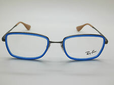 NEW Authentic Ray Ban RB 6336 2620 Blue/Gunmetal 51mm RX Eyeglasses