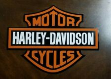 Harley Davidson Large Decal Sticker 11 X 14 Car, Truck, Trailer, Corn Hole Decal