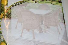 Gartenmöbel Schutzhülle Abdeckplane Sitzgruppe Gartensitzgarnitur 2,1x2,1x0,9m