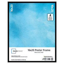 16x20 inch Basic Poster and Picture Frame with Hardware, Black FREE SHIPPING!
