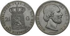 Netherlands - 2½ Gulden 1867