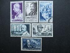 FRANCE-1948- N°793 - 794 - 805 et 814 au 816 oblitérés