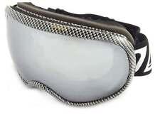 DIRTY DOG - SCAPEGOAT Carbon Fiber Snow Ski Goggles/ Silver Mirror Lens 54164