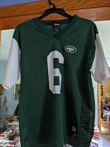 NFL NY Jets Jersey NFL Team Apparel M. Sanchez Youth Football Jersey Large 14-16