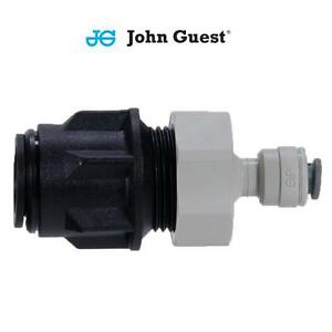"""John Guest PUSH FIT 15MM to 3/8"""" Push In Copper PEX LLDPE Pipe Adaptor Filter"""