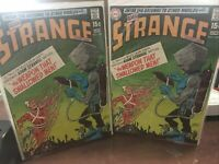 Strange adventures Lot Of 2 #224 Vg+/F INFANTINO ART..2 15CENT SILVER AGE BOOKS.