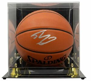 Shaquille O'Neal Signed Replica Spalding Basketball w/ Case BAS