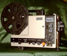 EUMIG S-912-GL SUPER 8mm 2 TRACK SOUND MOVIE PROJECTOR, FULLY SERVICED A1