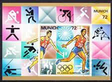 Äquatorialguinea Kajak Einer Olympische Spiele Montreal 1976 Block 210 Äquatorialguinea