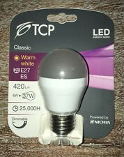 TCP 6W 37W Dimmable E27 ES LED Bulb GLS Bayonet LED Light Bulb Bright 420 Lumens