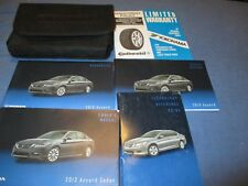 2013 HONDA ACCORD SEDAN OWNERS MANUAL SET W/ CASE