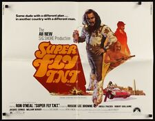 SUPER FLY SUPERFLY TNT half sheet movie poster 22x28 BLAXPLOITATION RON O'NEAL