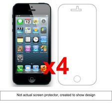 4x iPhone 5 Anti-Scratch Screen Protector w/ cloth