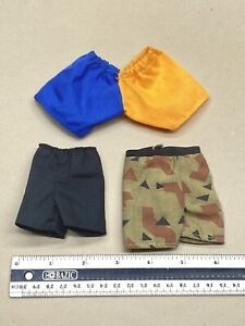 """Fantasy Sci-fi parts for 1/6 scale or 12"""" figure clothing short pants mix lot"""