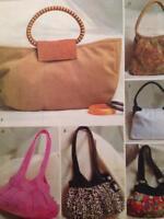 Butterick Sewing Pattern 4088 Six Lined Handbags Uncut Fashion Accessories