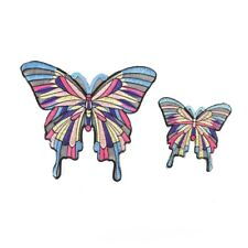 Chic Big Butterfly Embroidery Cloth Stickers Clothes Patch Clothing AccessoryNTP