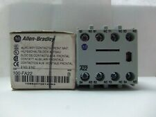 New Allen Bradley 100-FA22 Auxiliary Contact Block Front Mount 2 N.O. - 2 N.C. S