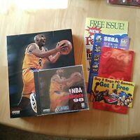 RARE NBA ACTION 98 (1997/1998) KOBE COVER SEGA SPORTS PC CD / NEW W/BOX
