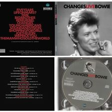 DAVID BOWIE CHANGESLIVEBOWIE Ltd numbered / 1000 compact disc digipack rare
