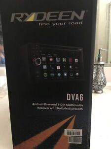"New! Rydeen DVA6 6.2"" Double DIN DVD CD GPS MP3 Android USB Bluetooth Navigation"