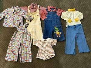 Vintage Baby Boys Clothes sizes 12 mo. to 3