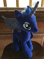 "Build A Bear BAB~My Little Pony MLP Princess Luna Moon Plush Stuffed 19"" Pegas"