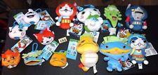 More details for job lot bundle of 13 x yo-kai watch plush soft toys - (12 have original tags)