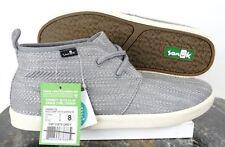 Sanuk  Mens Cargo TX Gray Chukka Shoes SMF10970-Gray Mens Size 8M US  Eur 41