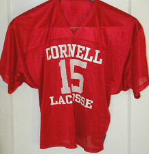 Rare CORNELL UNIVERSITY Big Red Lacrosse Jersey NEW YORK COLLEGE Lax IVY LEAGUE