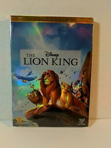 The Lion King (DVD, 2011) with slipcover brand new & sealed