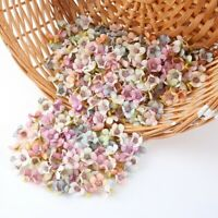 50pcs Mini Silk Artificial Daisy Flower Head for Crown Scrap Wedding Home Decor