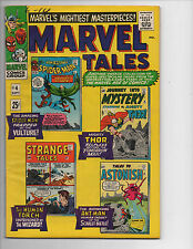 Marvel Tales #4-1966 (VF/8.0) Spider-man/Human Torch, Giant-Size, in Mylar