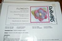 Knitwhits Knitting Pattern Felted Flower Pin