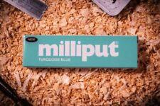 Milliput - 1 x 113g Pack Turquoise - 2 Part Epoxy Putty