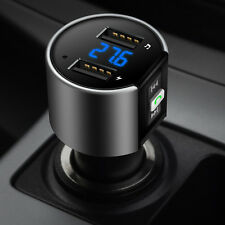 Professional Bluetooth Stereo Car Kit Charger Adapter With FM Transmitter Player