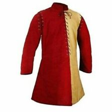 Thick Padded Red Yellow Medieval Theater Custome ScaGambeson Play Movies Armour