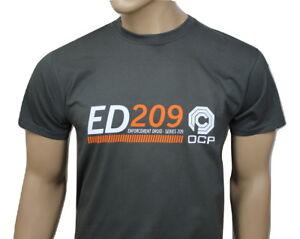 RoboCop 80s inspired mens film t-shirt - ED 209