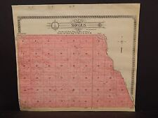 North Dakota Bottineau County Map Sergius Township  1910 Q6#83