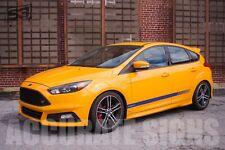 Rayas gráficos para caber Ford Focus (Par) Azul brillante coche Calcomanías Pegatinas