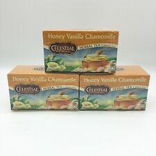 Celestial Seasonings Honey Vanilla Chamomile Herbal Tea 20ct