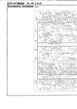Schematic Diagrams-Schema für Pioneer CT-F1250