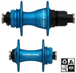 2021 Chris King R45D CenterLock disc hubs 28H **Turquoise**